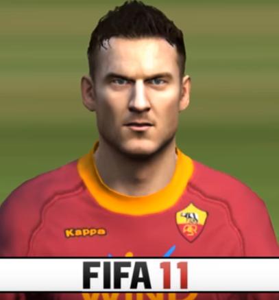Totti Fifa 11