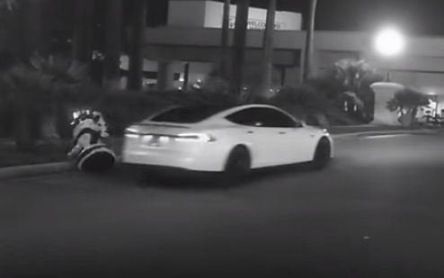 Tesla Model S on Autopilot Runs Down Promobot, Russians Cry Murder
