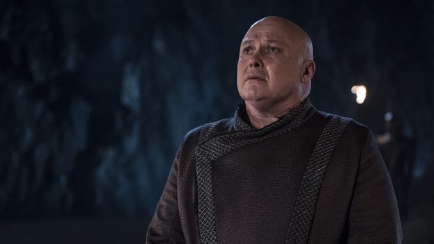 Varys bit the dust early on. Credit: HBO