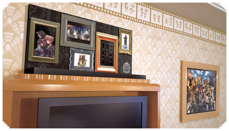 Pretty pictures in the KH hotel. Credit: Disney