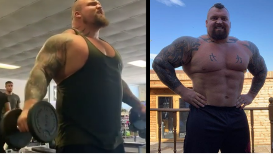 Eddie Hall Shares Weight Loss Transformation After ...