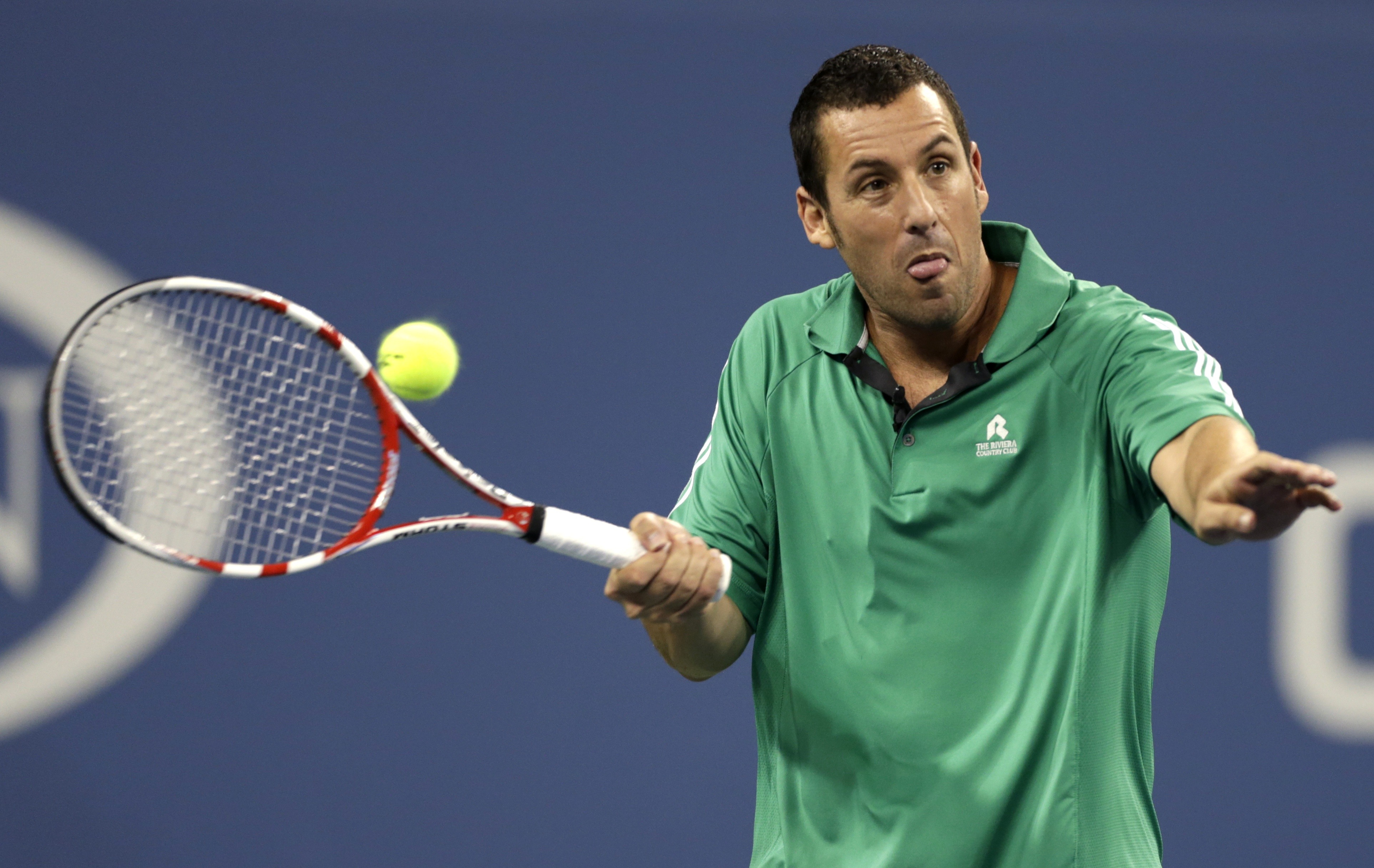 Believing he could turn his hand at any sport with great success Gilmore briefly joined the ATP Tour