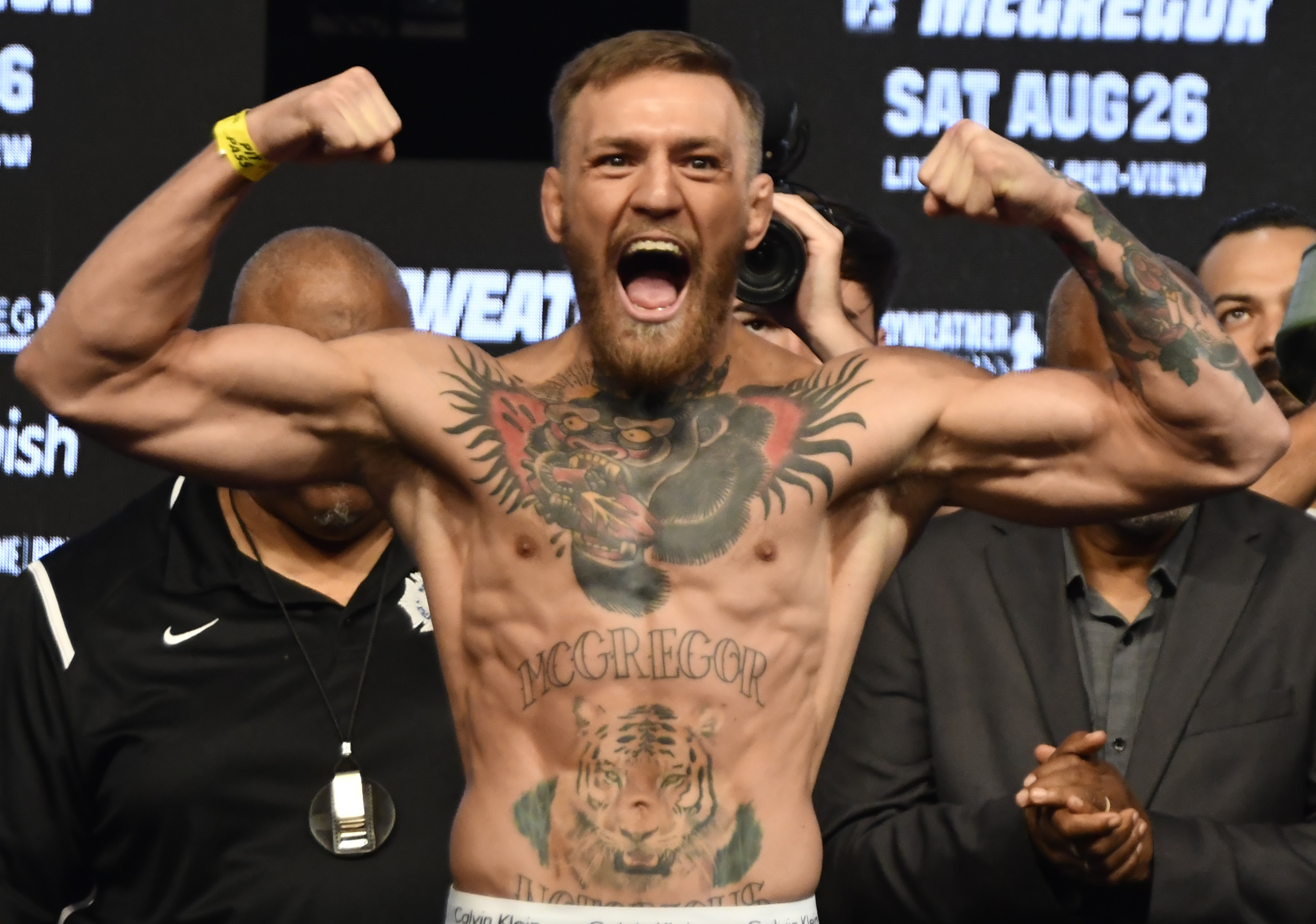 McGregor fight second richest ever