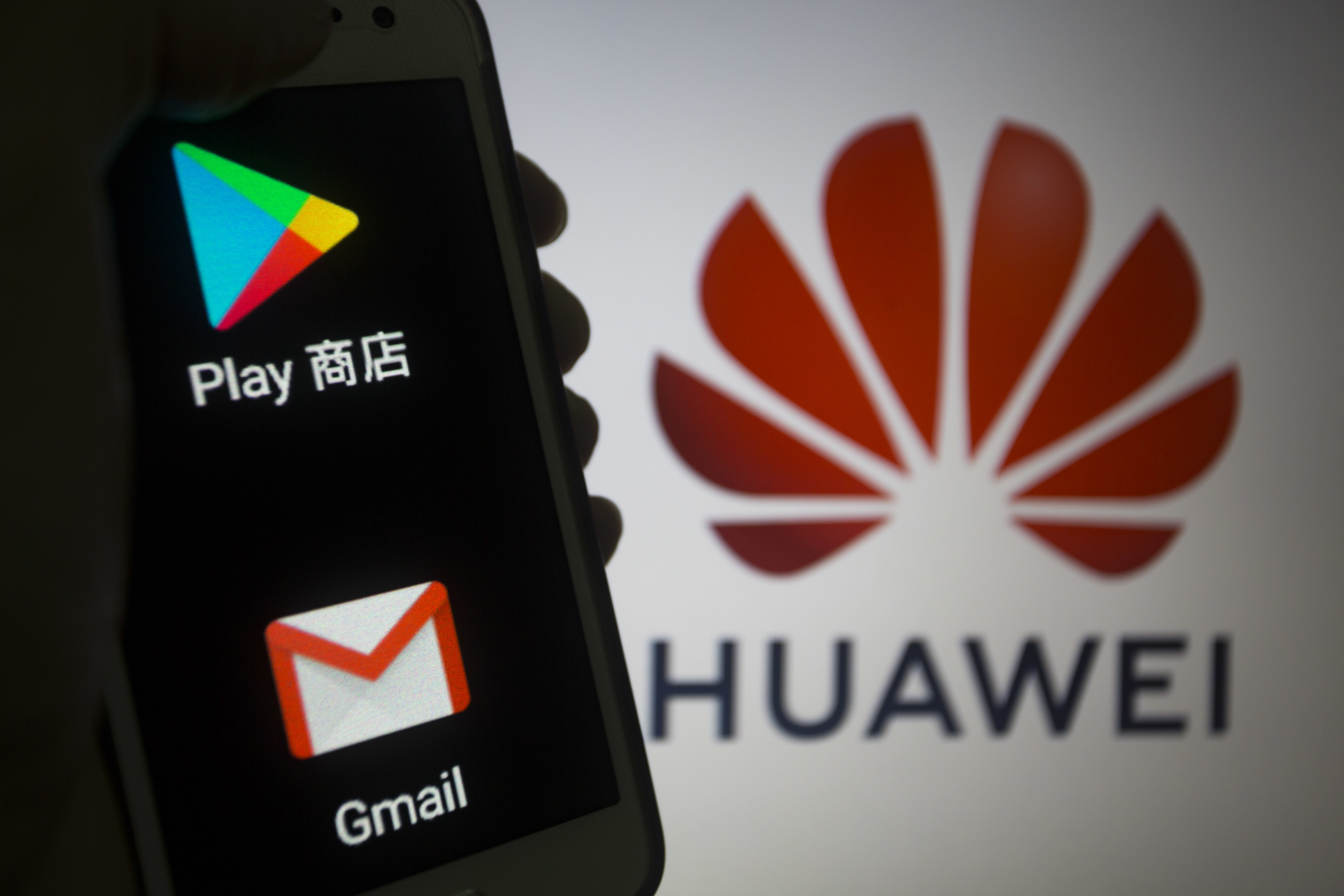 The Chinese firm has reportedly been banned from future updates by Google. Credit: PA