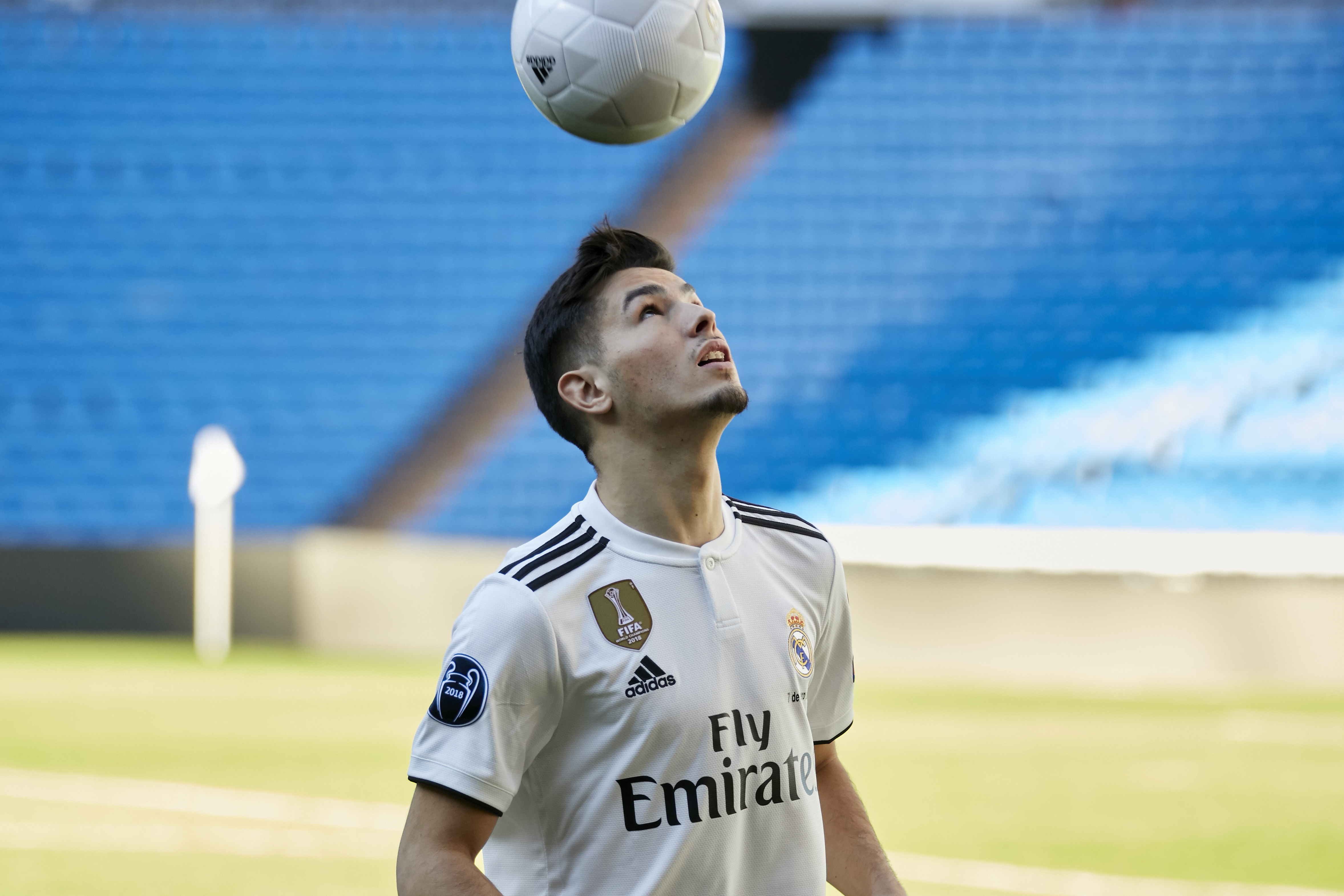 Diaz has barely played any football but is clearly highly rated in Madrid. Image: PA Images