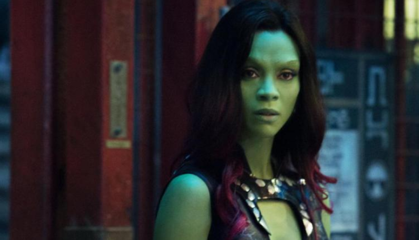 Zoe Saldana stars as Gamora in Avengers: Endgame. Credit: Marvel Cinematic Universe