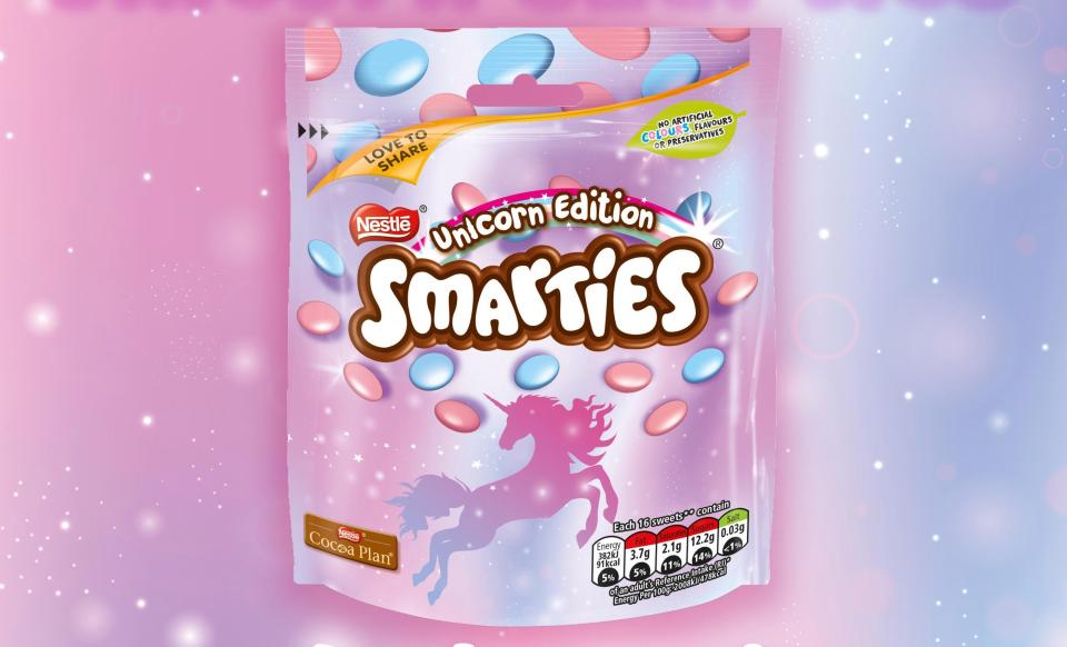 Unicorn smarties
