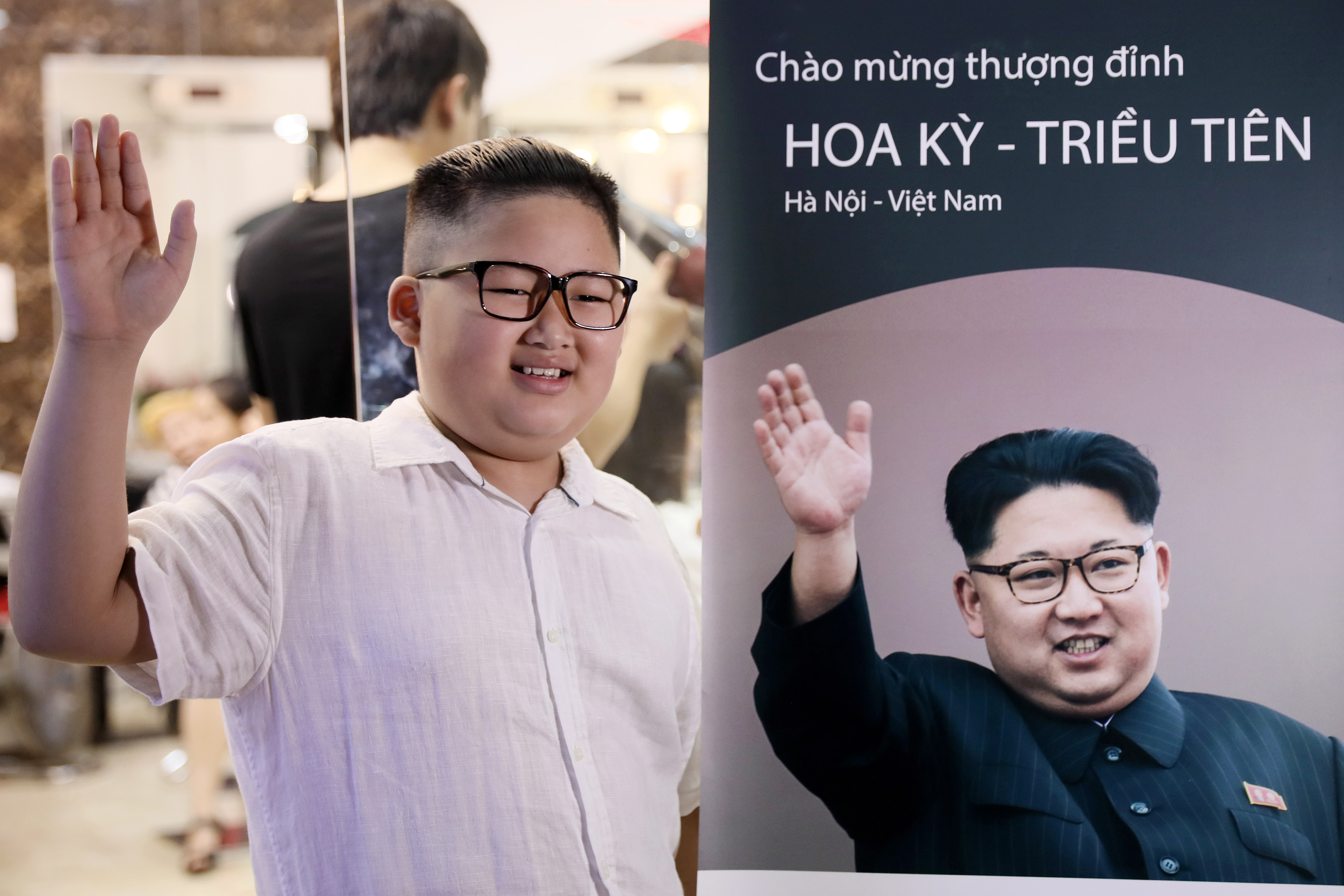 To Gia Huy said he often gets told he looks like the North Korean leader. Credit: Shutterstock