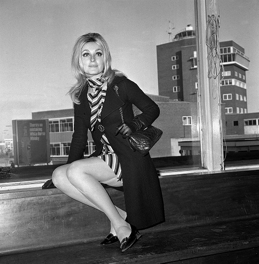 Sharon Tate, the inspiration for Tarantino's next film. Credit: PA