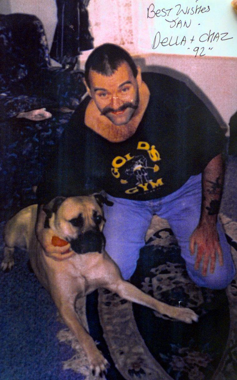 Bronson in 1992. Credit: PA
