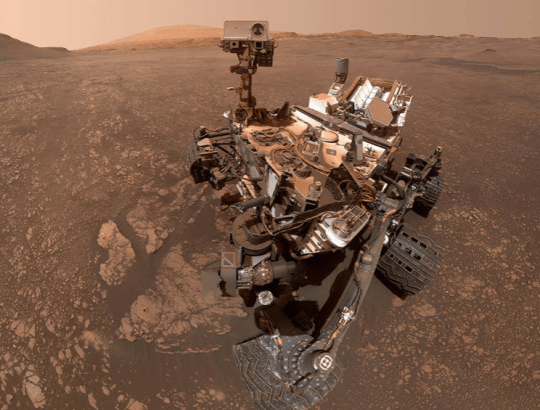 The Curiosity rover has been on Mars since 2012. Credit: NASA