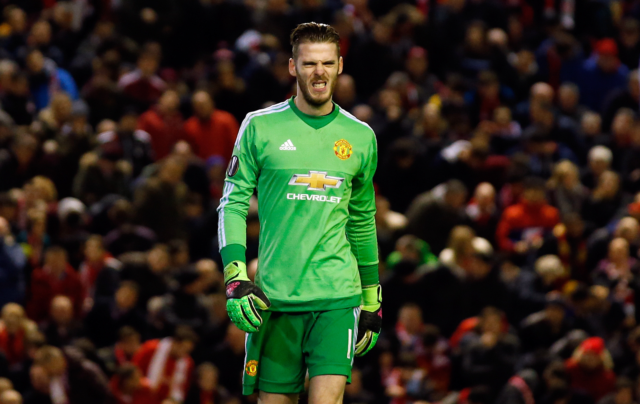 De Gea has been far more worthy of high wages, even with his recent mistakes. Image: PA Images