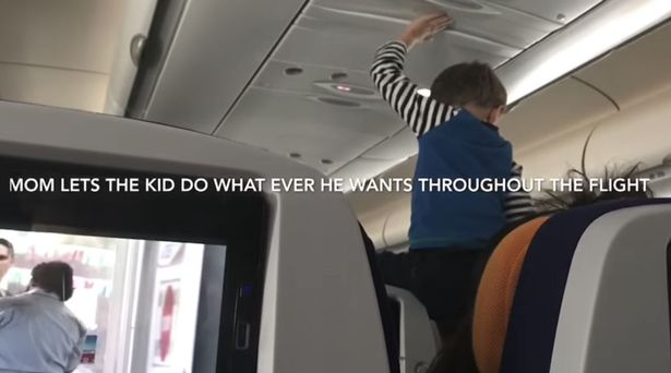 Kid screams demonically throughout entire eight-hour flight