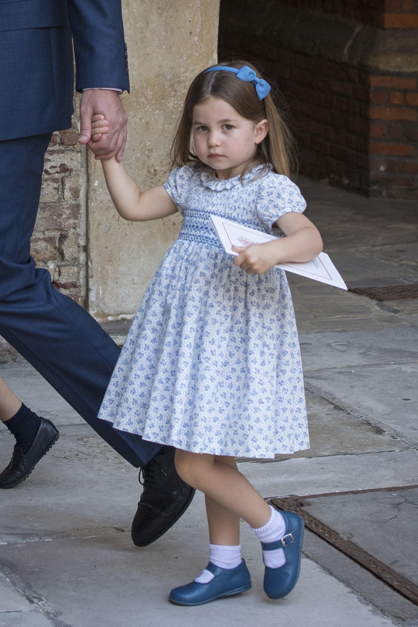 Princess Charlotte. Credit: PA