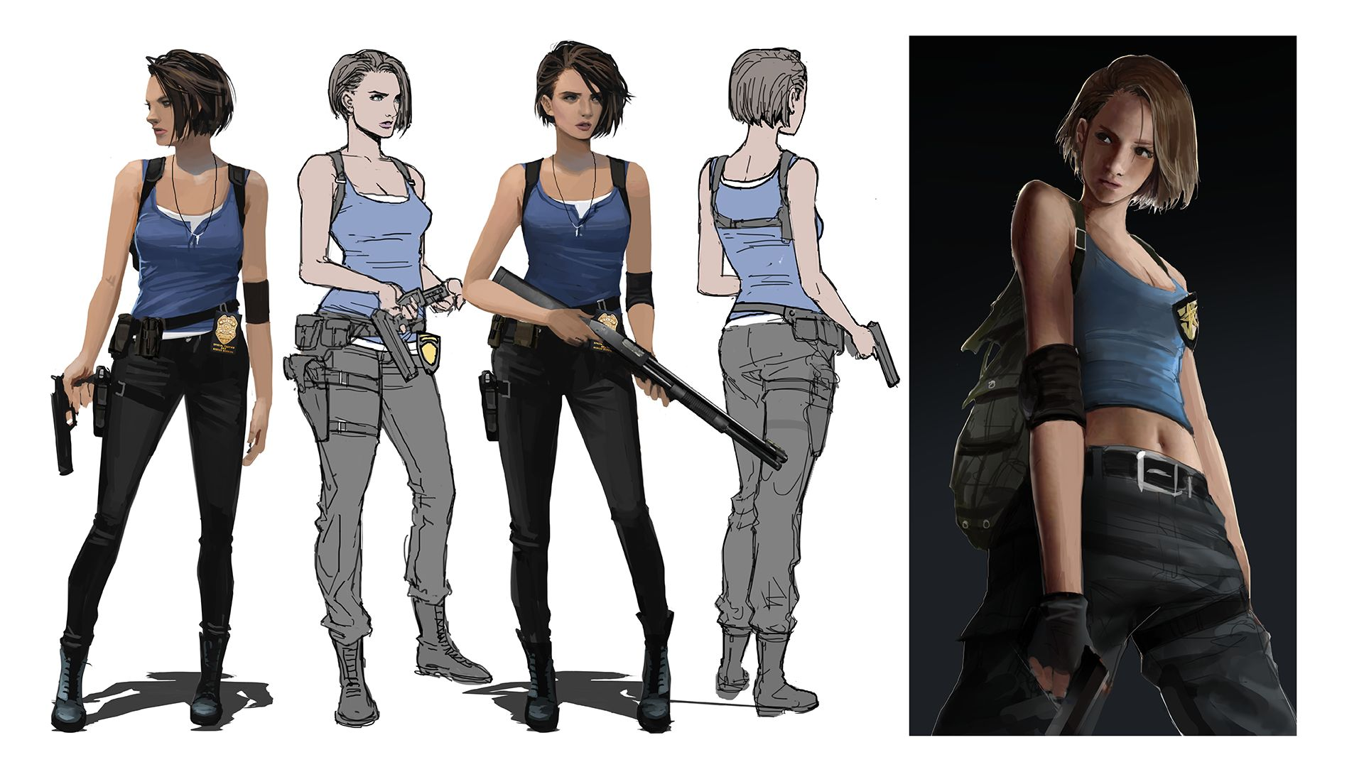 Capcom Explains Why They Redesigned Jill Valentine For Resident