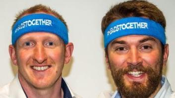Man Runs London Marathon With Man Who Saved His Life