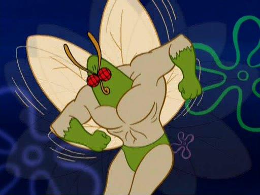 Mark Hamill as The Moth. Credit: Nickelodeon