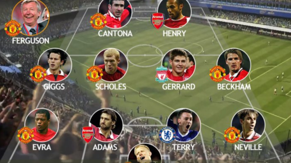 6e370695fa3 This Team Voted The Greatest Premier League XI Of All Time By Fans ...