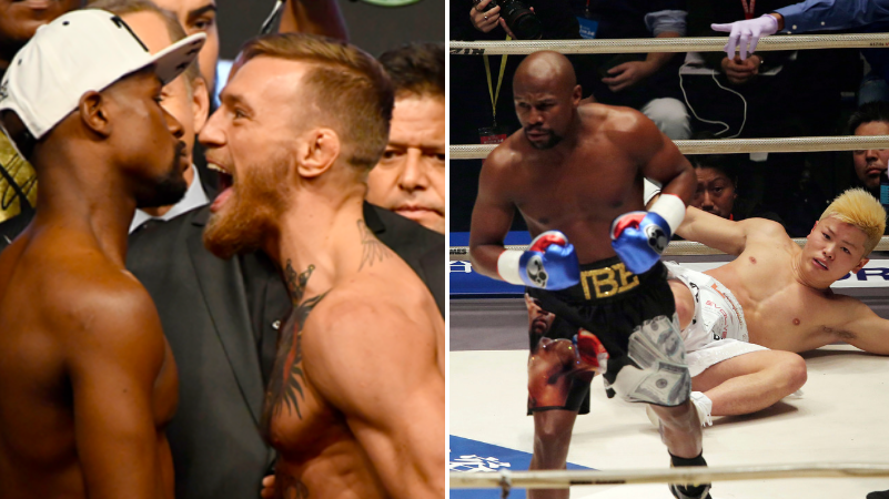 Conor McGregor Reacts To Floyd Mayweather's Exhibition Fight With Tenshin Nasukawa