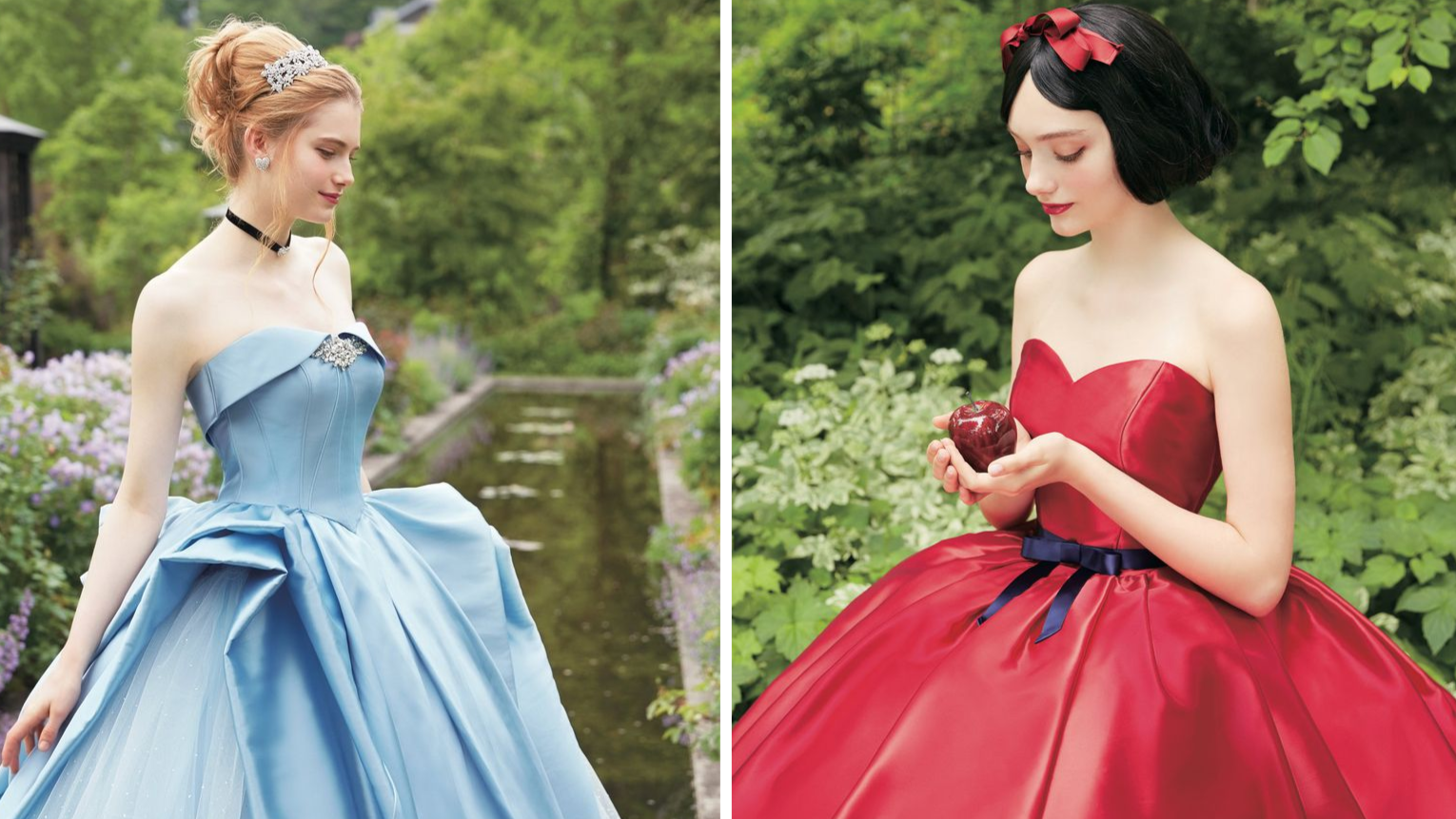 These Disney Princess Wedding Gowns Are What Fairy Tale Dreams Are ...