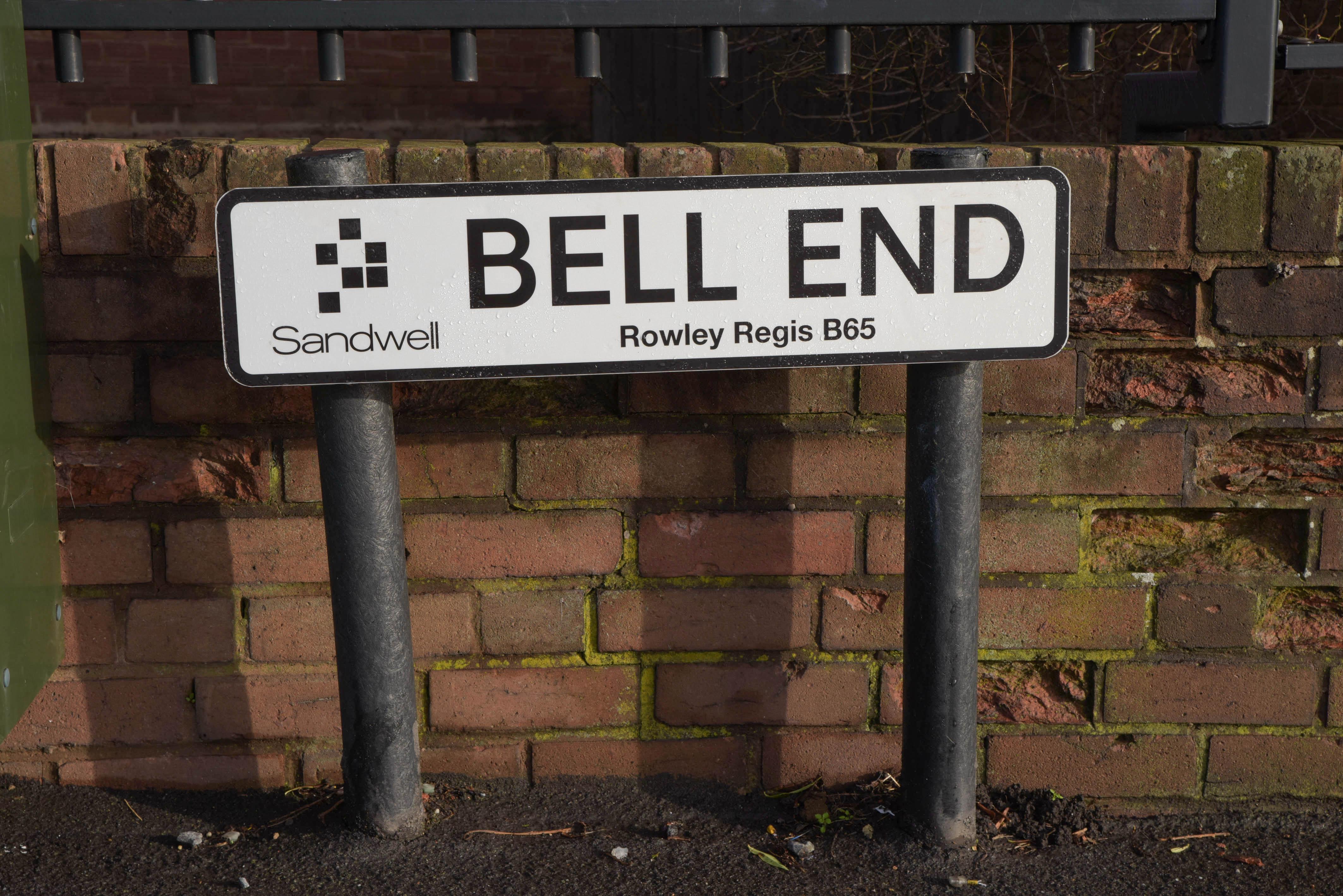 Bell End in Rowley Regis. Credit: Caters