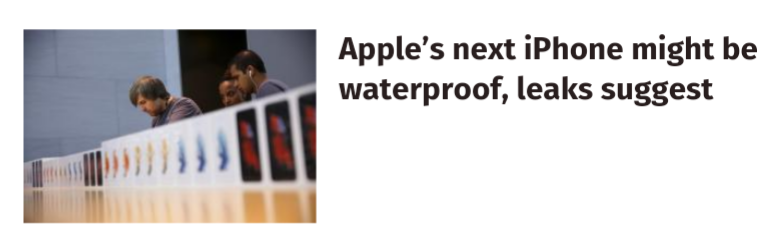 I see what you did there, headline writer.