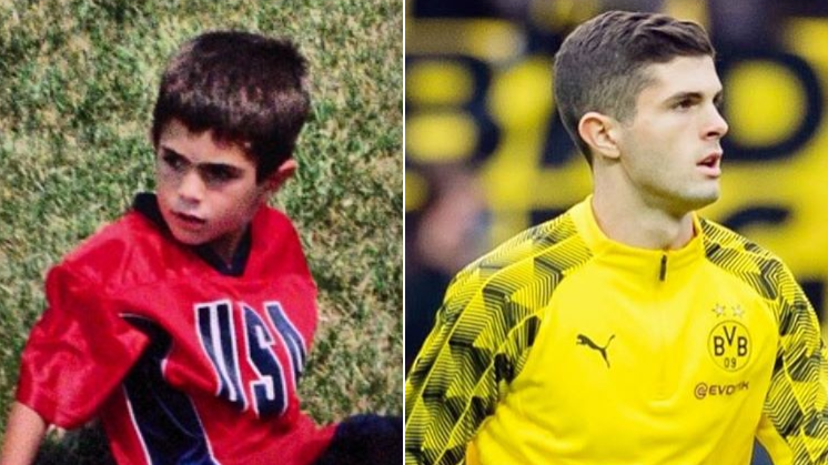 How Christian Pulisic Fell In Love With Football At Non-League Brackley Town