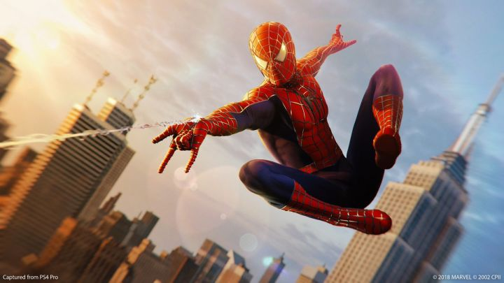 The Sam Raimi 'Spider-Man 2' suit was recently added for free. Credit: Marvel/Insomniac Games