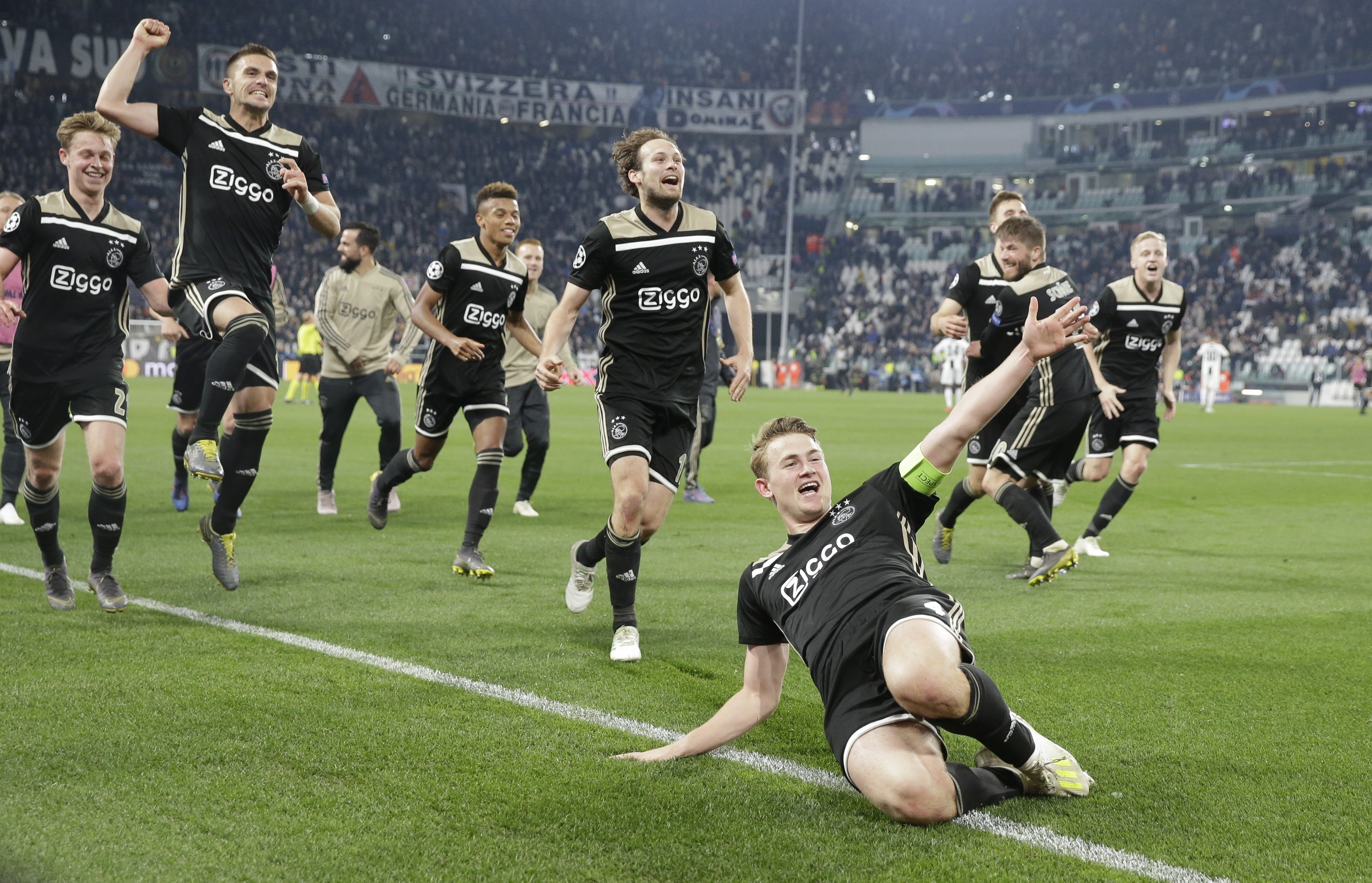 Ajax have beaten Juventus and Real Madrid on the way to the Champions League semi. Image: PA Images