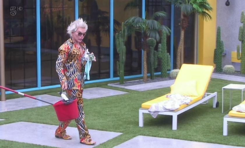 Rodrigo Alves removed from Celebrity Big Brother house after 'further incident'