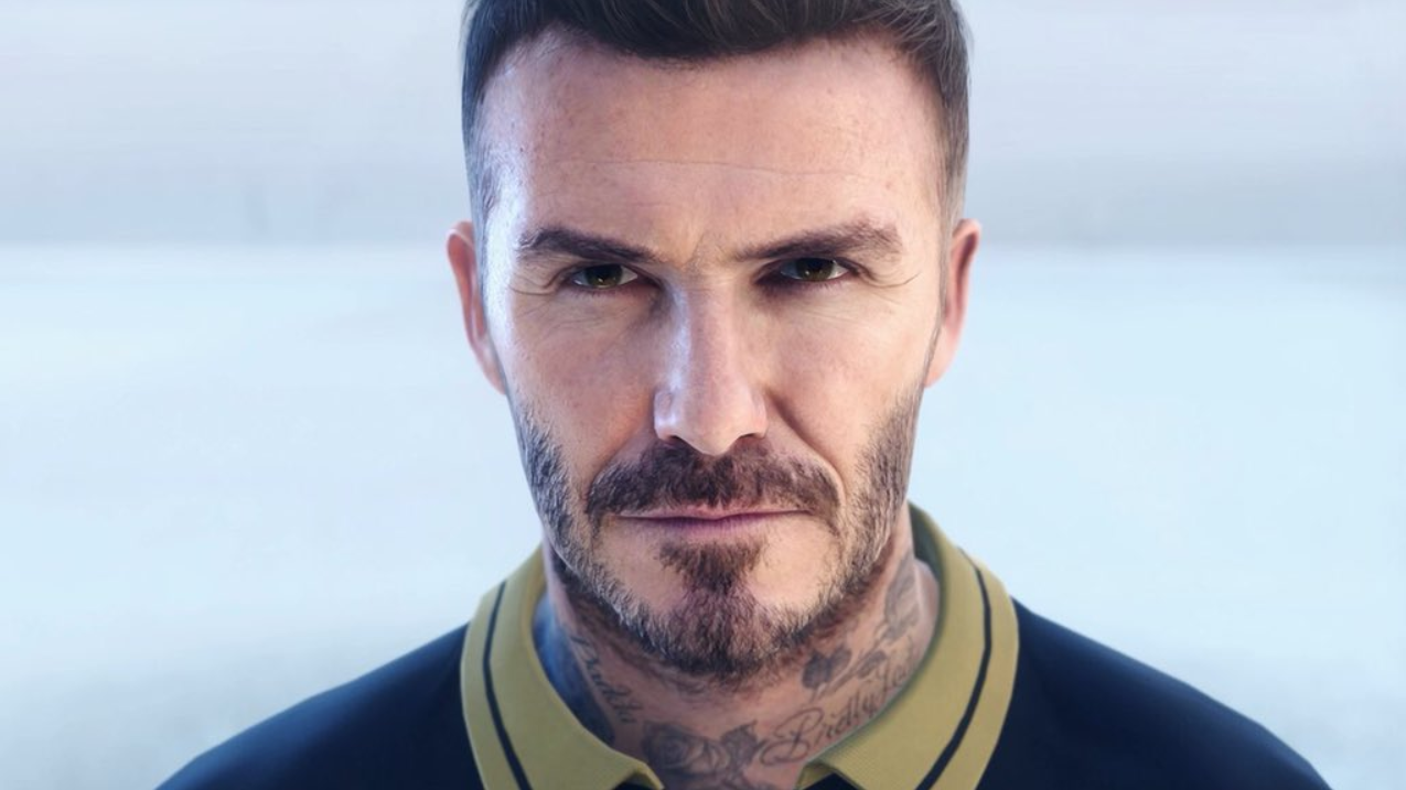 This Is Not A Real Life Picture Of David Beckham It S From Pes