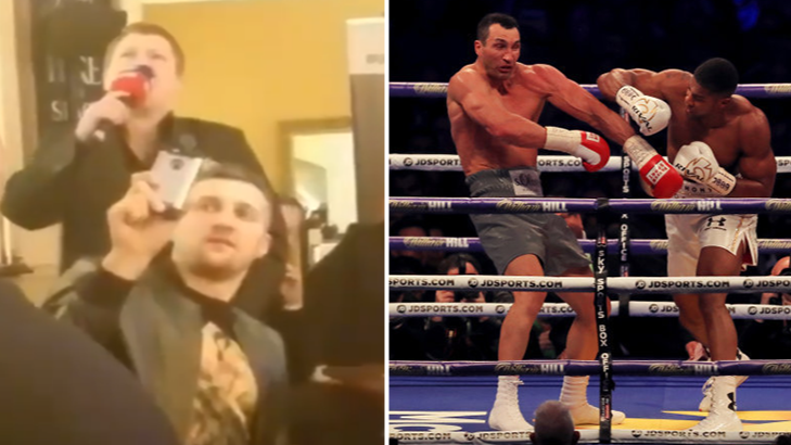 Ricky Hatton Commentating On Anthony Joshua Vs Wladimir Klitschko Is Gold