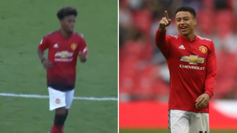 Jesse Lingard Is Very Impressed With Angel Gomes Latest Performance