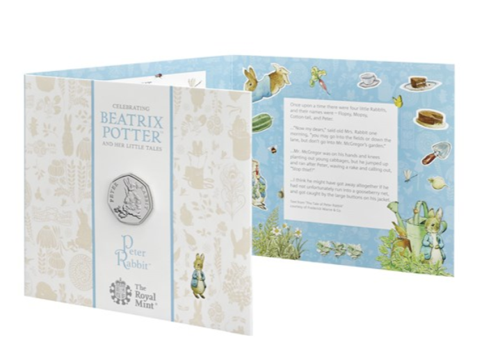 It's the fourth year running the Royal Mint has celebrated the iconic children's character. Credit: Royal Mint
