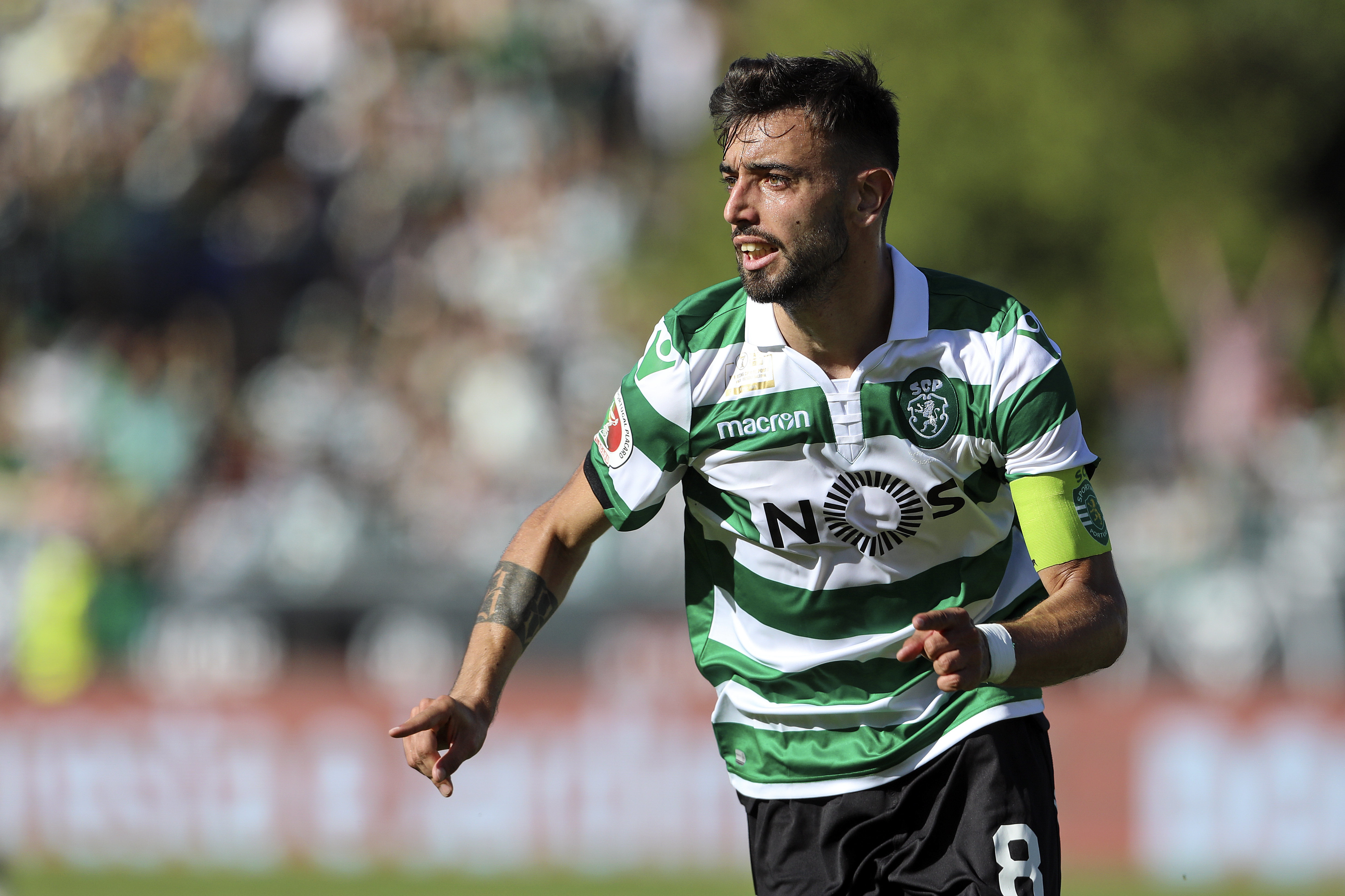 Bruno Fernandes could be on his way to the Premier League. Image: PA Images