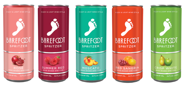 You Can Now Get Barefoot Wine Spritzers And There Are Five Different
