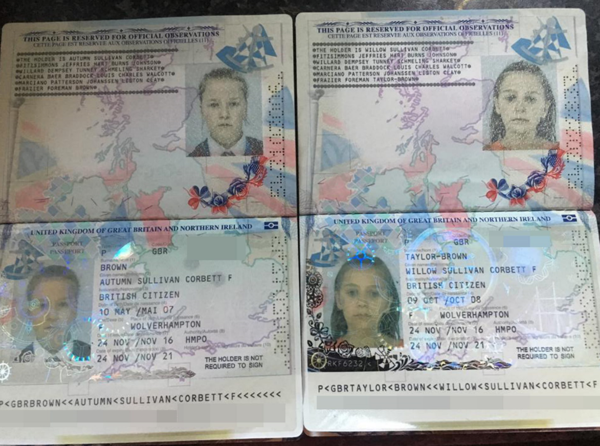 how to see passport middle name