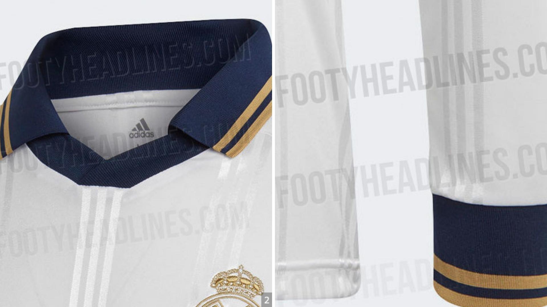 Adidas' Real Madrid 201920 Icon Retro Jersey Has Leaked