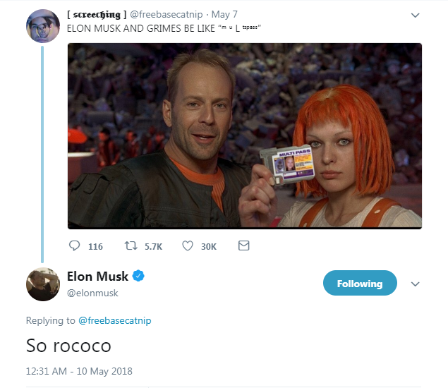 Grimes And Elon Musk Actually Appreciate Your Memes About