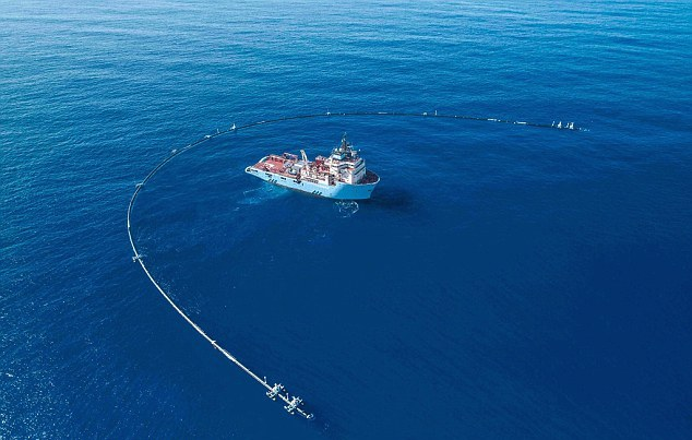 Credit: Ocean Cleanup/Facebook