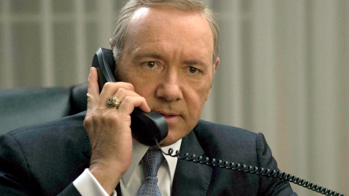 Kevin Spacey Suspended from 'House of Cards'