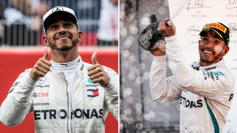 Lewis Hamilton Wins F1 World Championship To Become Five Time Winner