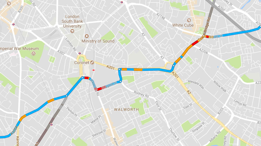 The 'Creepy' Way Google Maps Knows When There's Traffic