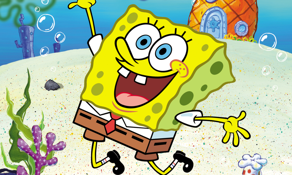 Super Bowl halftime show: Maroon 5 plays SpongeBob SquarePants homage