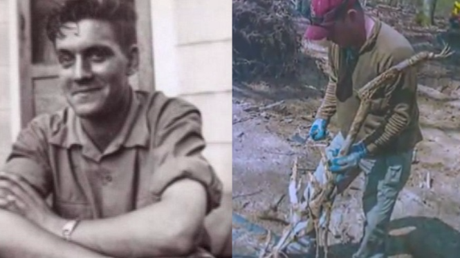 Family Amazed After World War Two Soldier's Remains Found In A Tree