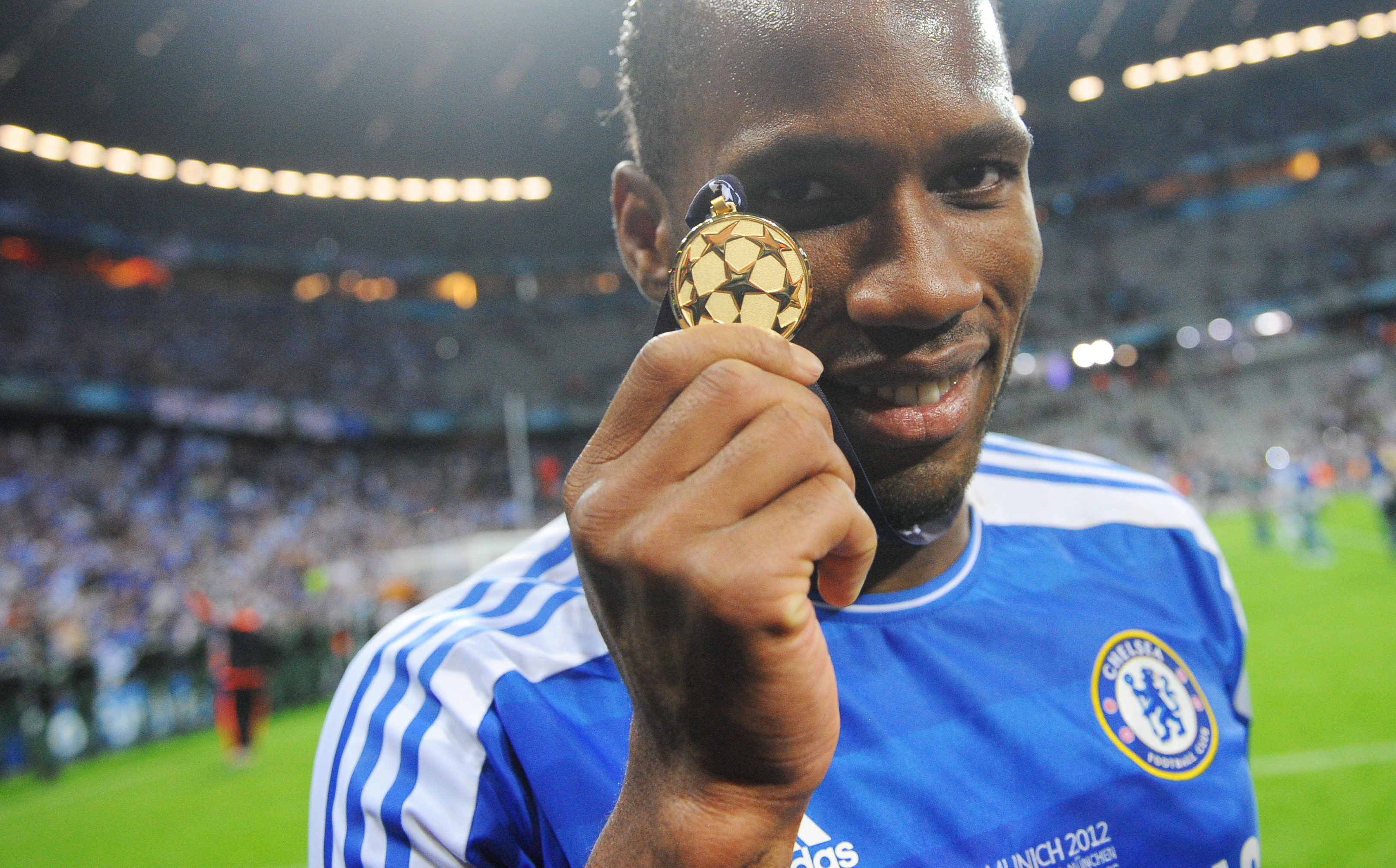 Drogba scored the winning penalty to win the Blues the Champions League final. Image: PA Images
