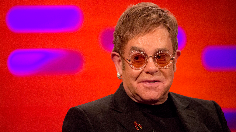 Elton John Reveals Bizarre Wedding Present From Eminem On 'The Graham Norton Show'