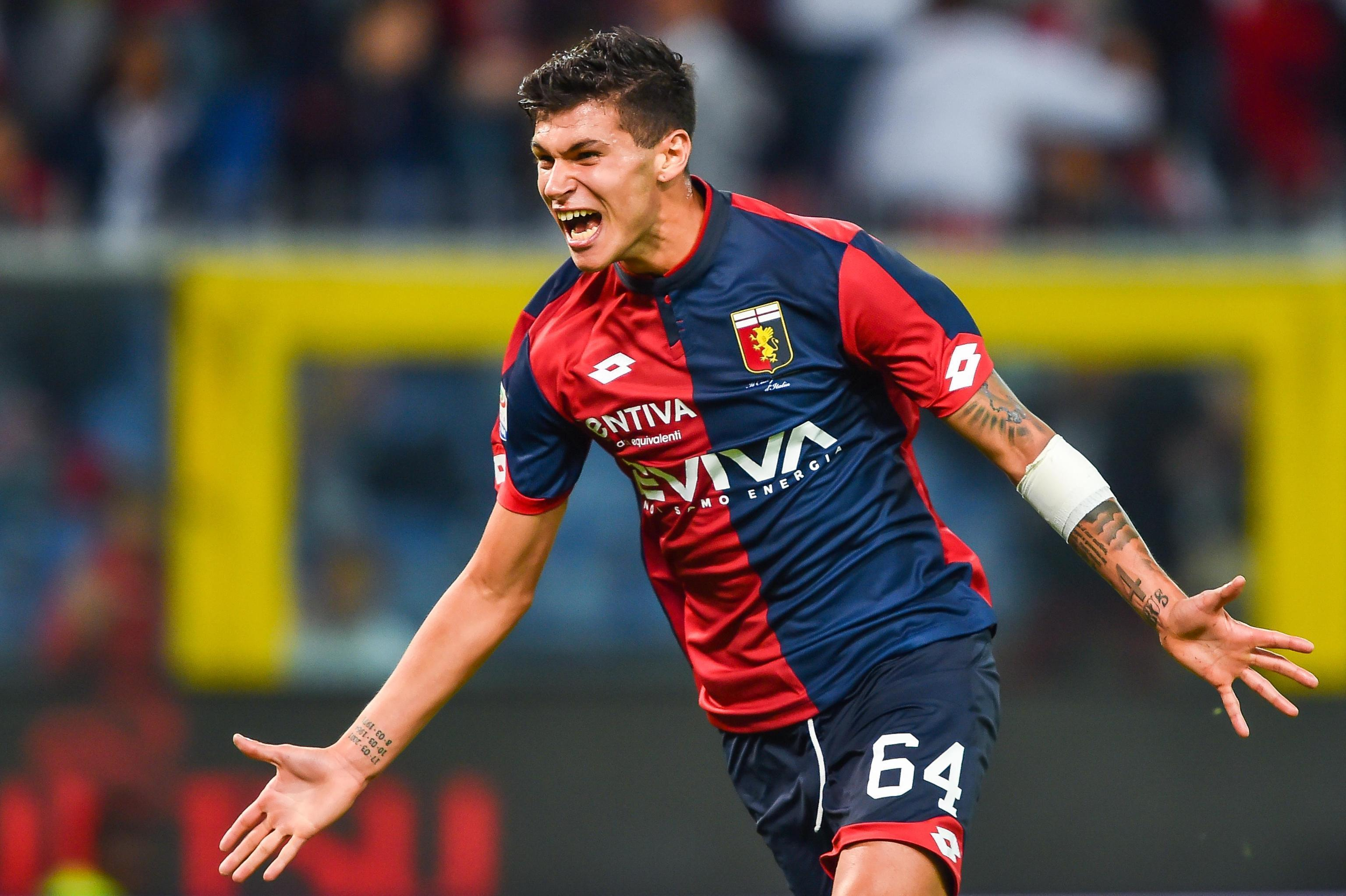 Monaco sign Genoa teenager Pietro Pellegri in £17.5m deal