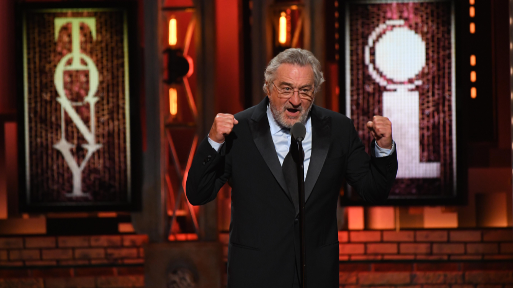 Robert De Niro Drops F-Bomb In Trump Rant On Live TV