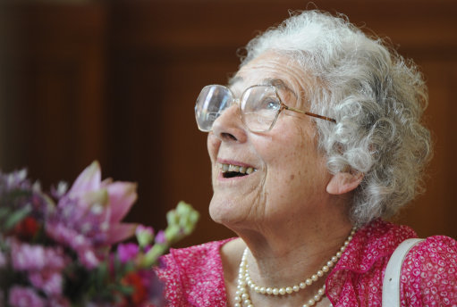 Judith Kerr at the Red Town Hall in Berlin, Germany, back in 2013. Credit: PA
